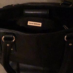 Gianni Bernini  Lg. Soft leather black purse